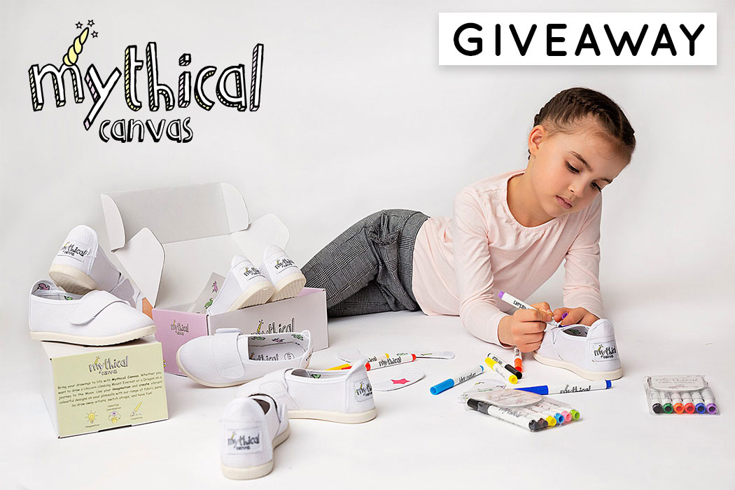 Mythical Canvas Giveaway - Let Your Child Unleash Their Creativity