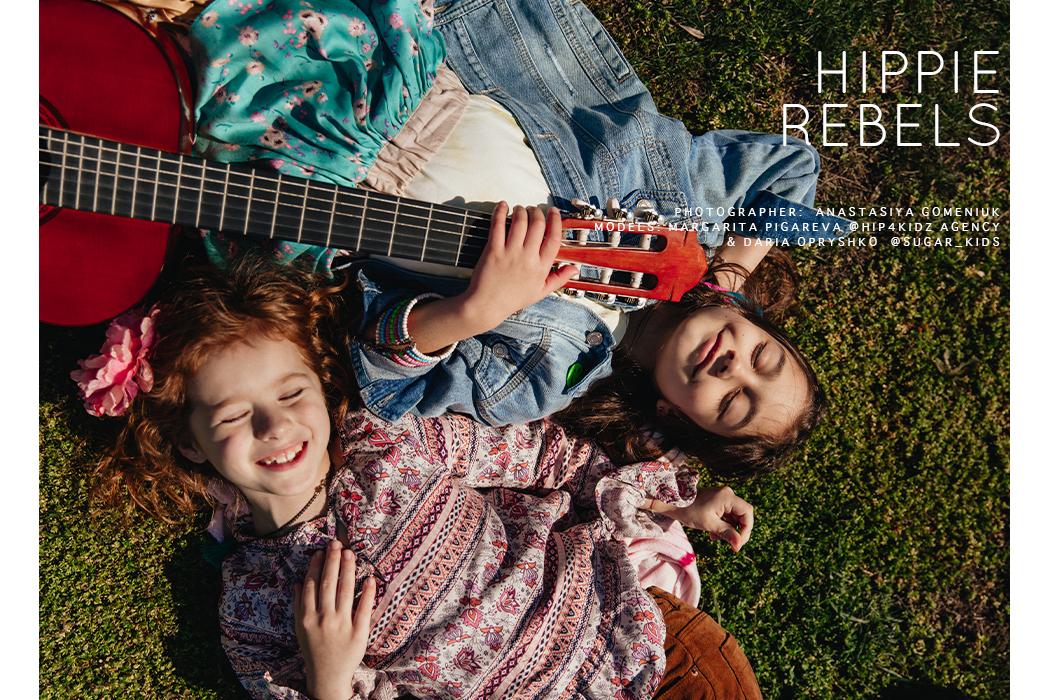 Festival Fun: Hippie Rebels Editorial