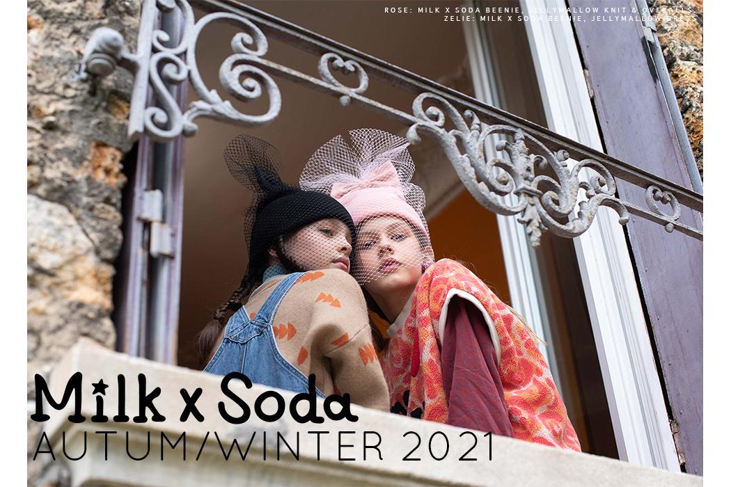 Brand Feature: Milk X Soda AW21 #kidsaccessories aw21