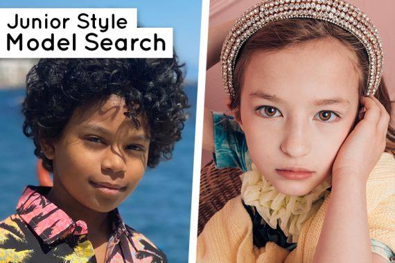Model Search Kids Modelling