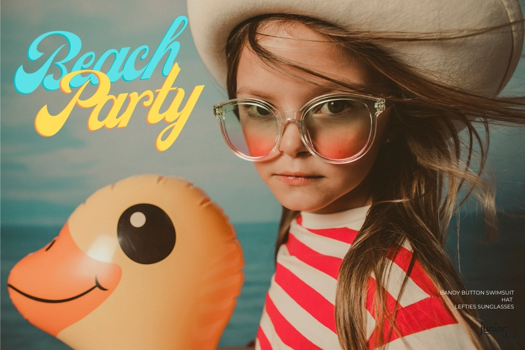 Editorial: Beach Party by Leticia Reig