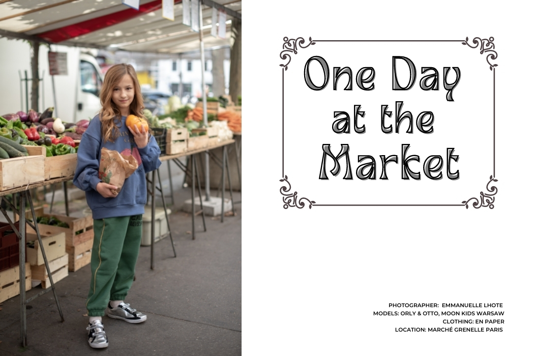 Editorial: One Day At The Market featuring En Paper