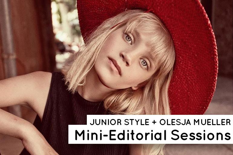 Junior Style x Olesja Mueller Mini Editorial Sessions