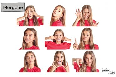 Kid Model Feature - Funny Faces